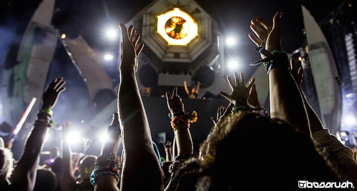 The bassPOD at EDC Las Vegas 2015