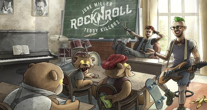 """June Miller & Teddy Killerz """"Rock n Roll"""""""