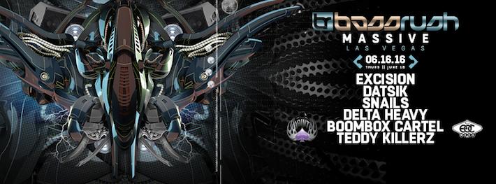 Bassrush Massive Las Vegas Lineup Announced!
