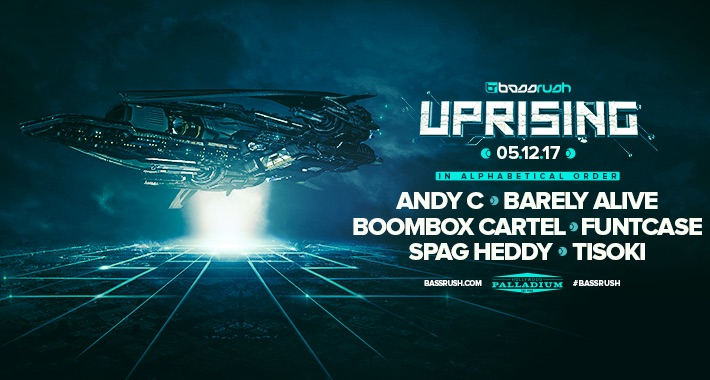 [Announcing] Bassrush Uprising Returns to the Palladium